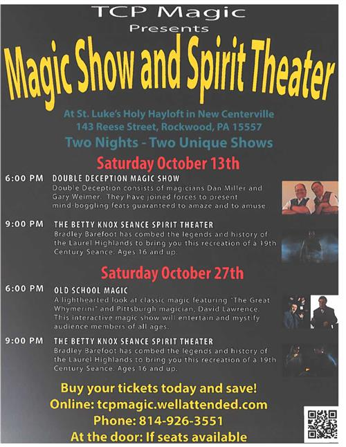 Magic Show and Spirit Theater